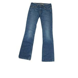 American Eagle Hipster Jeans Sz 2 Flare Med Wsh